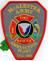 McAlester Army Ammunition Plant Fire Rescue (2018)