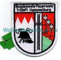 TrUbPl Hammelburg Bundeswehr-Feuerwehr, 70mm x 85mm, seit 2013