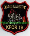 KFOR 19 Feuerwehr
