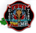 """FDNY Engine 167 / TL 87 """"Fire & Ice"""""""
