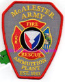 McAlester AAP Fire Rescue (misspelled)