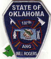 137th ANG FD, Will Rogers World Airport, OK