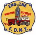 FDNY Engine 1 Midiown Express (Schreibfehler)