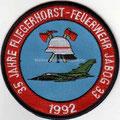 Fliegerhorstfeuerwehr JaboG33, 35 Jahre