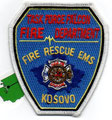 Task Force Falcon Fire Department, Kosovo