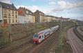 CFL 2303 (mit Fotowolke) wieder zurück von Türkismühle nach Tier Hbf als DbZ-D 92859 am 11.02.14 im Saarbrücker Stadtteil Malstatt