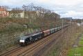 MRCE 189 289 (vermietet an RTB) mit Kohleleerzug auf der Güterumfahrung in Saarbrücken am 28.02.14