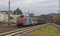 482 011 mit DGS 46942 Basel SBB - Saarbrücken Rbf Nord am 06.02.2014 in Dudweiler