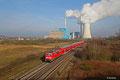 Die bestens gepflegte 111 115 mit RE-D 4273 von Trier Hbf nach Mannheim Hbf am 27.02.14