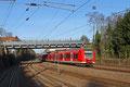 Doppel-Quietschie 426 043 + 425 127 als RB 33644 Türkismühle - Saarbrücken Hbf bei verlassen des Haltepunktes Jägersfreude am 24.02.14