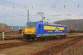 RBB 146 520 am 18.02.14 in Saarbrücken Rbf, später Lz Richtung Osten
