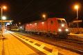 185 289 mit GC 62301 Karlruhe Hafen - Trier Hbf am 25.02.14 in Lambrecht (Pfalz) (Sdl. Überführung ET 2010))