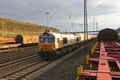 ECR 77 022 mit GC 49241 (47196 Dunkerque/F) Forbach/F - Dormagen am 23.02.14 in Saarbrücken Rbf Nord  ( Polimeri Europe )