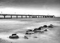 Seebrücke Kühlungsborn |  Langzeitbelichtung f=25, t=30s