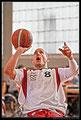 Schweizer Basketball Nationalmannschaft - Paraplegiker-Vereinigung. Player Nicolas Hausammann