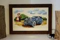 Glasbild: Oldtimer-Auto Duesenberg 1939