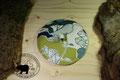 Natursteinkissen: Kirschsteinkissen Marmor