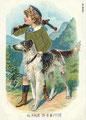 Barzoï  6 (repro carte postale ancienne, Coll. Manializa)