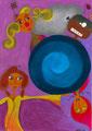 Affiche pour spectacle de théâtre pour enfants.©Saëlle Knupfer