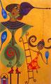 Projet d'affiche pour le Festival d'Arts de Rue de Sion ©Saëlle Knupfer, 2009