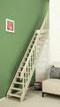 Cottage MEDIUM escalier droit et rampe à balustres