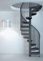 Delta escalier en spirale