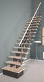 Biax Escalier droit avec Socle de départ
