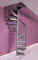 Delta escalier en spirale avec marche supplémentaire