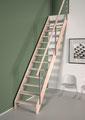 Alsace escalier droit et rampe à câbles