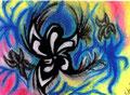 Fleurs sauvages - 11 x 16 pastels secs - 25 €