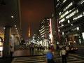 東京タワーのある風景。いいなぁ。