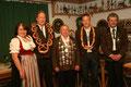 Jahr 2008: Schützenkönig: Brunner Karl-Heinz, Wurstkönig: Waldherr Thomas, Brezenkönig: Vollmer Michael
