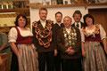 Jahr 2006: Schützenkönig: Brunner Karl-Heinz, Wurstkönigin: Weidel Renate; Brezenkönig: Gaiser Kurt jun.