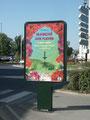 Marché aux Fleurs - affiche decaux