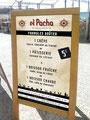 stop trottoir pancarte extérieur el pacha