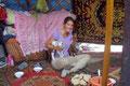 Einladung in eine Yurte bei Ulaangom