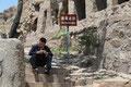 unmissverständliche chinesische Befehle (Yungang-Grotten)