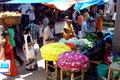 Blumenverkäufer (Mysore)