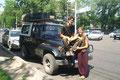 Tachna & Michel unsere belgischen Wartefreunde (Almaty)