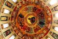 Deckenmalerei in einer Kirche in Targu Mares