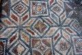 Bodenmosaik in einem Herrenhaus