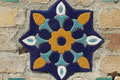 Fresko von Gur-e-Amir Mausoleum (Samarkand)