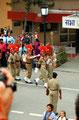 die wertvolle Fracht wird sorgfältig verwahrt - Grenzschliessungszeremonie (Amritsar)