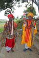 Namaste in Indien