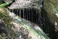 Kleiner Wasserfall, Nähe der Wupper (Foto: E. Klein)