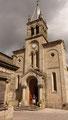 ... eine weitere Aufnahme der Kirche in Sarria ...