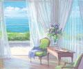 「海辺の美しい部屋」