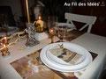 """Déco de table """"Au milieu des anges"""""""