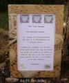 """Petit cadre photo """"Souvenirs de mariage"""" (10 x 15 cm) - Création juin/juillet 2010"""