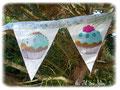 Candy Bar - Fanions et autres accessoires couleur bleue - Sept 2012